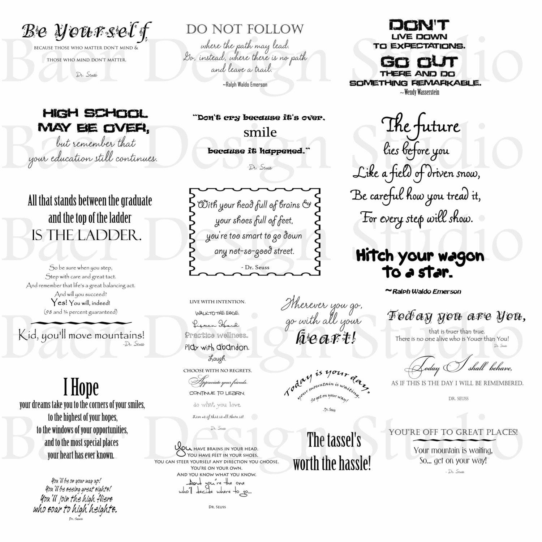 graduation quotes digital word art quotes by baerdesignstudio