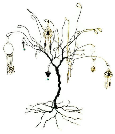 301 moved permanently for How to make a wire tree jewelry stand