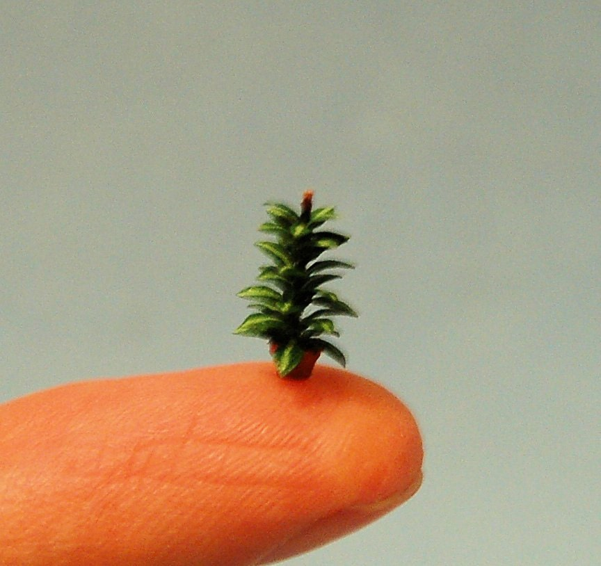 Mini Rubber Plant : Th inch scale miniature rubber plant by sdkminiatures