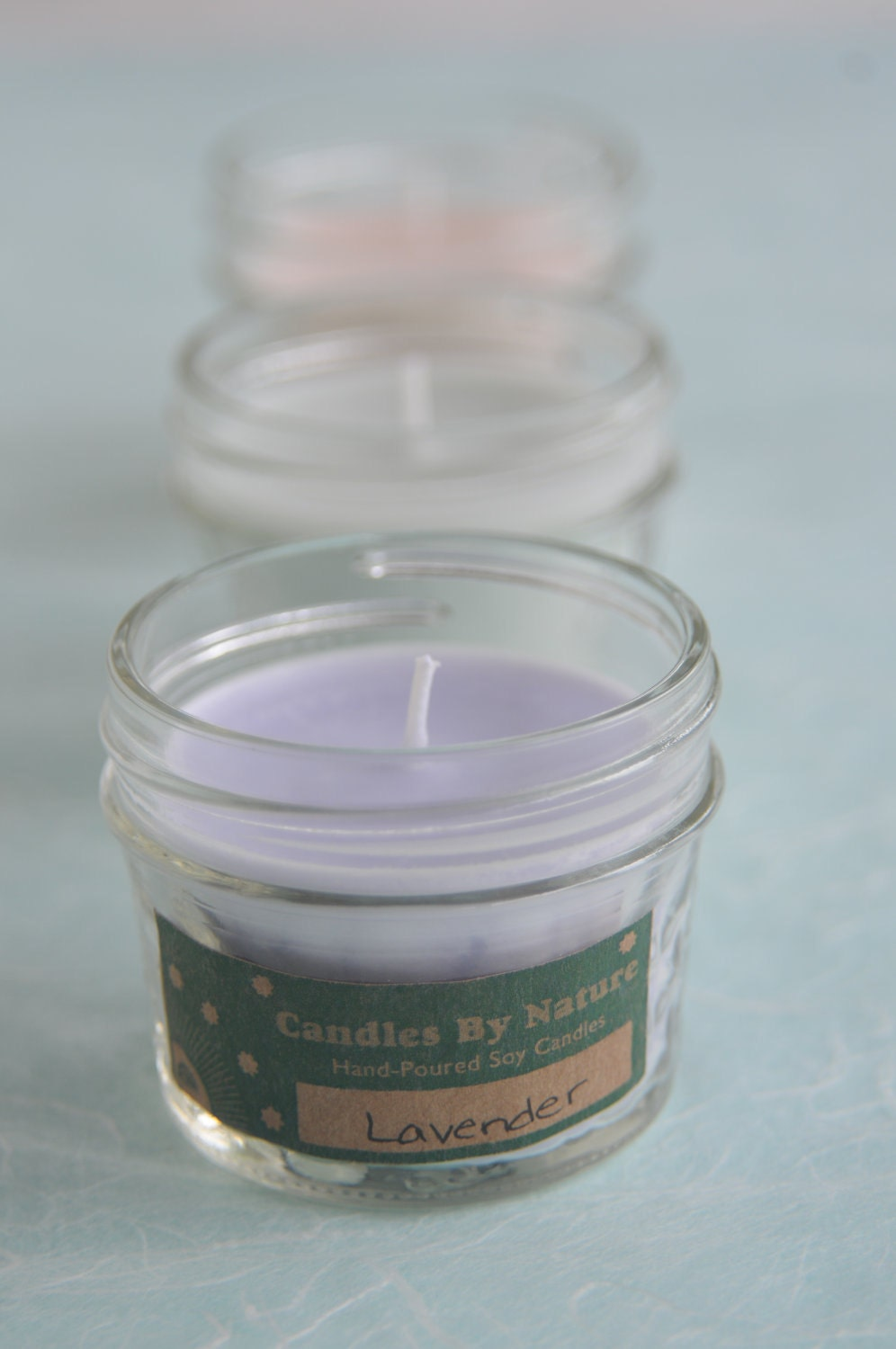 LAVENDER Handcrafted Soy Candle (4 oz.)