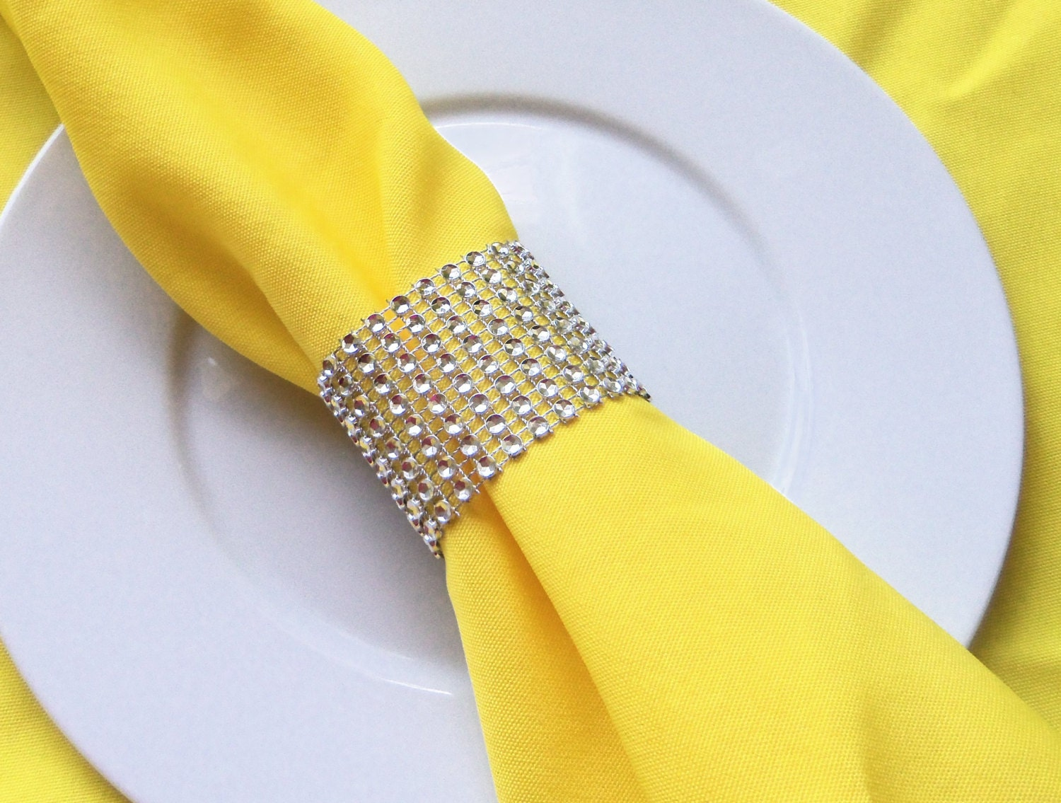Wedding Reception Napkin Rings 200 Silver By TheBeachChick On Etsy