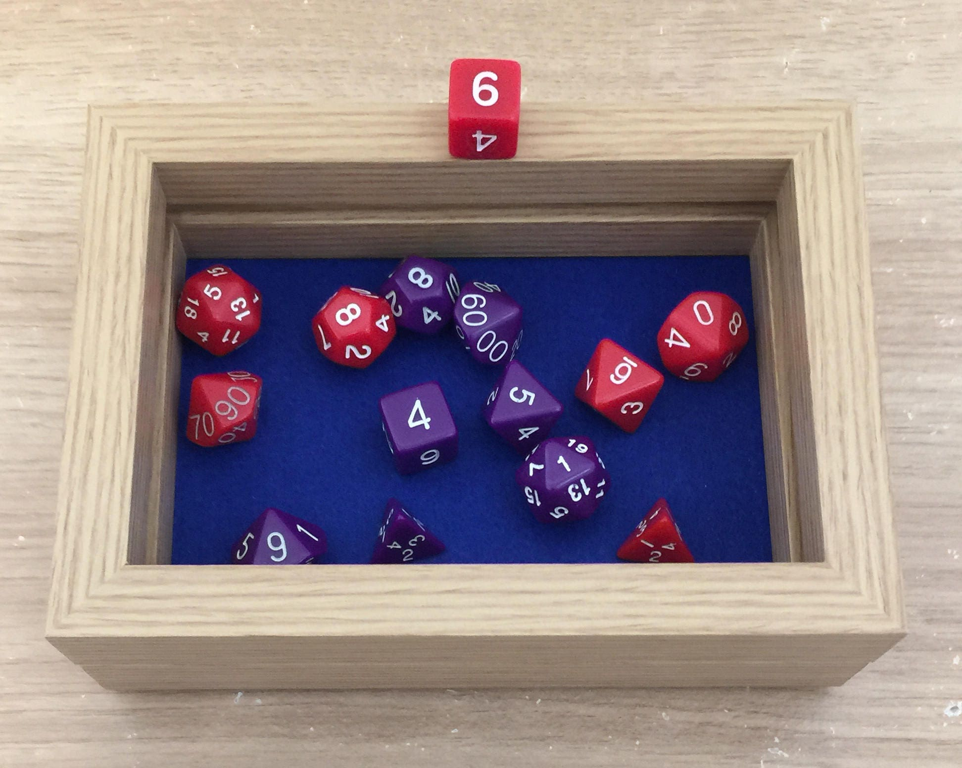 New Standard Dice Box  Tray (Double Layer) by customdicebox.com