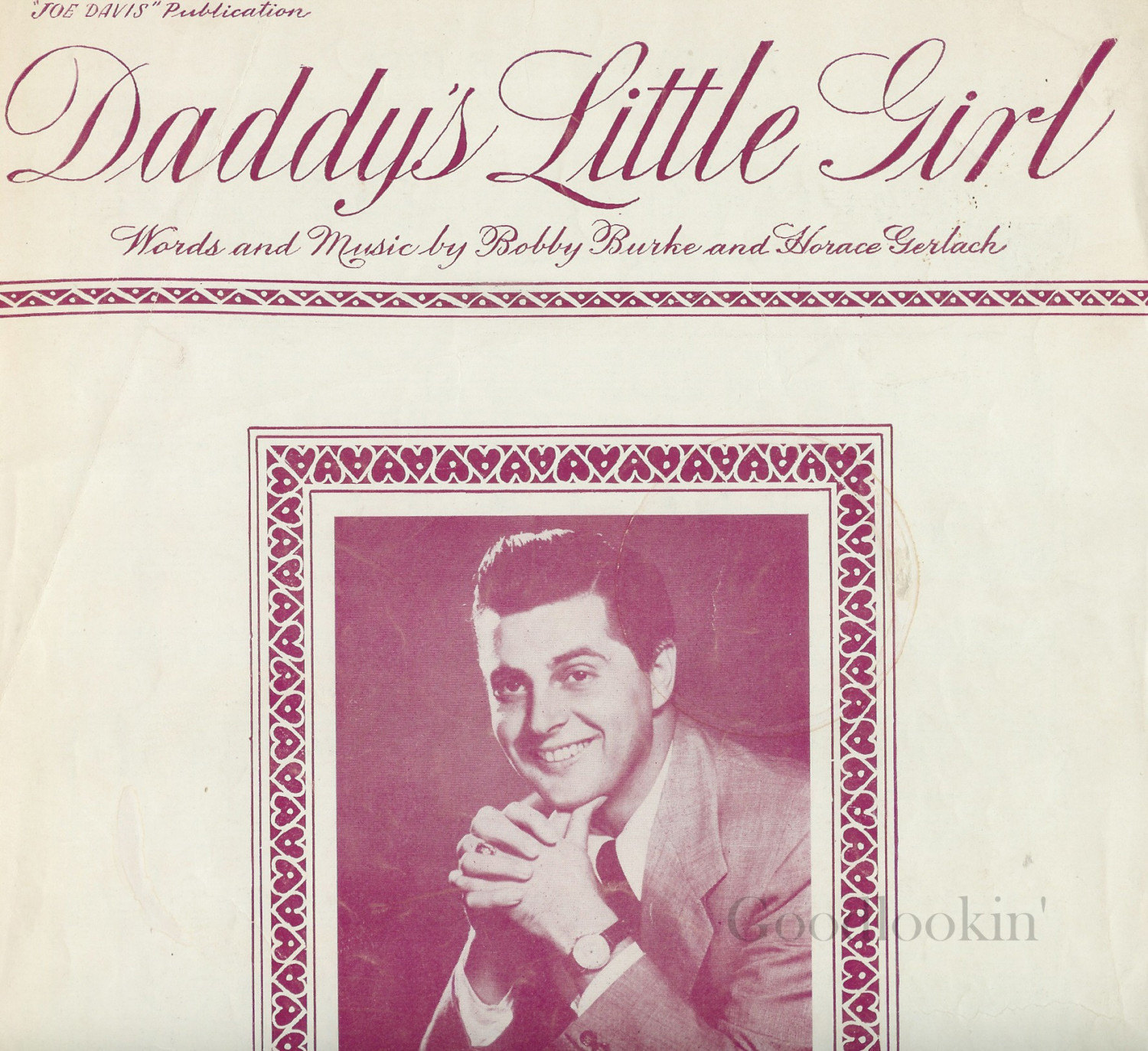Daddy's Little Girl - 1949 Sheet Music