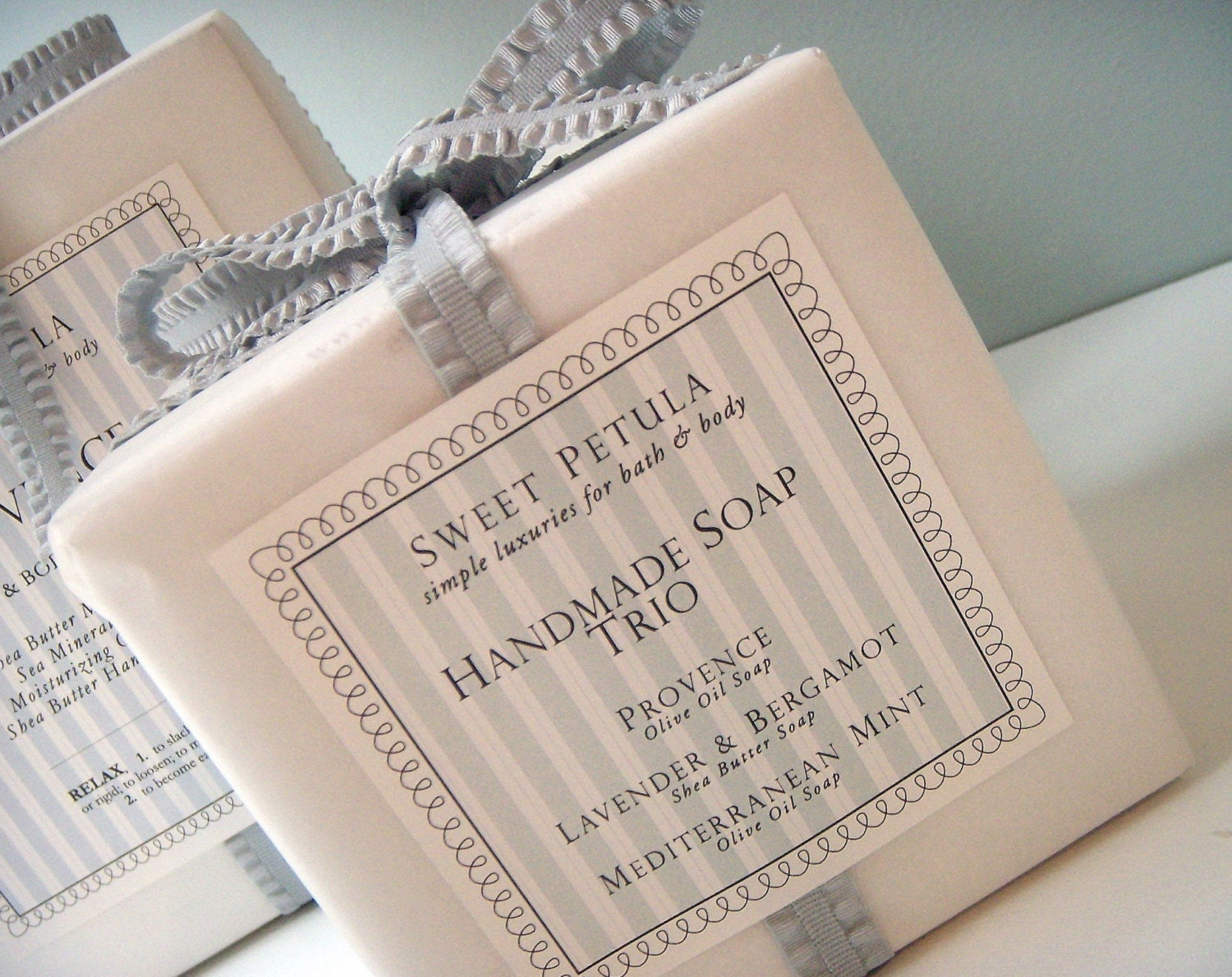 Luxury Handmade Soap Trio Gift Box