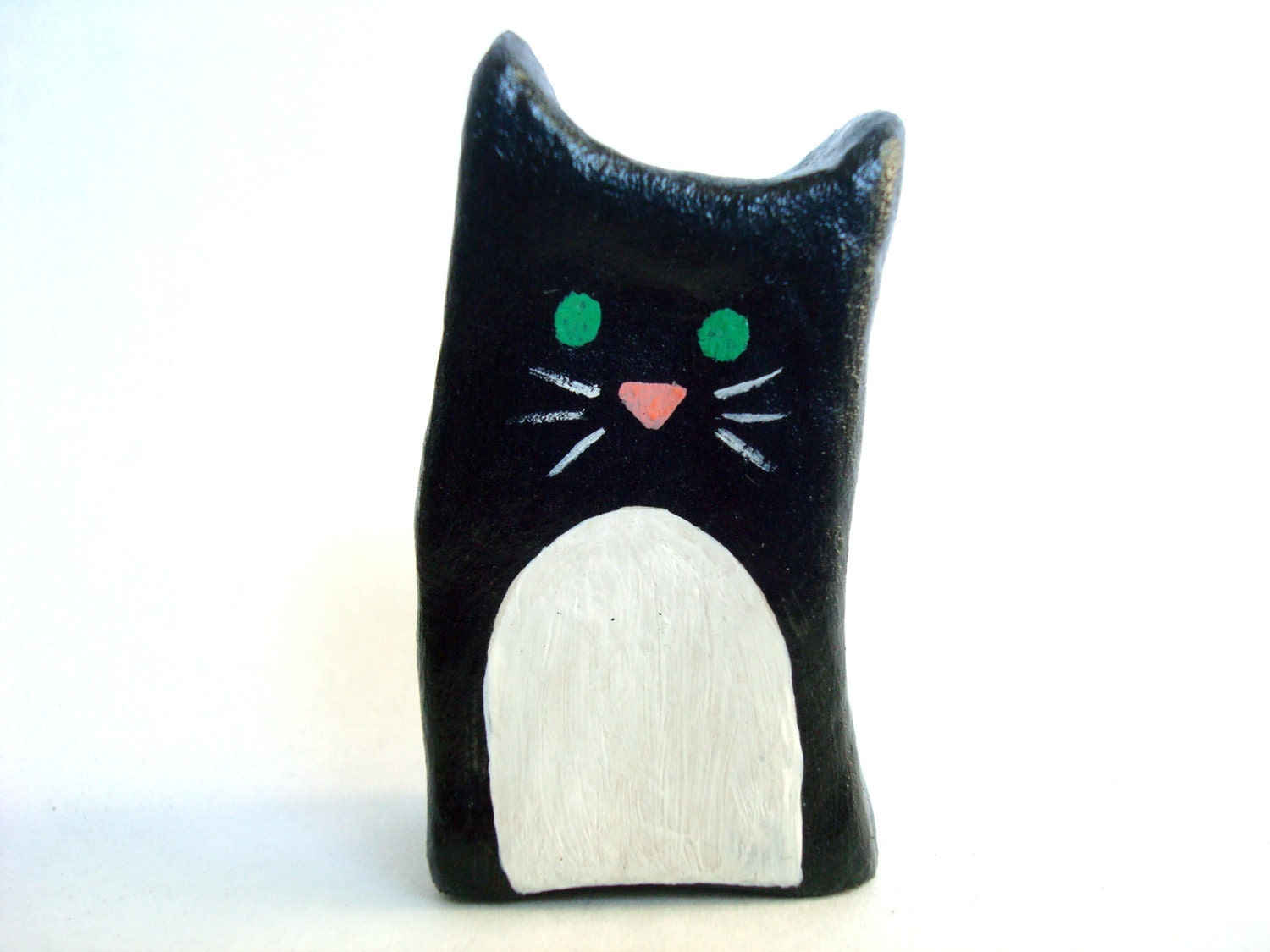 Clay Black Cat Miniature