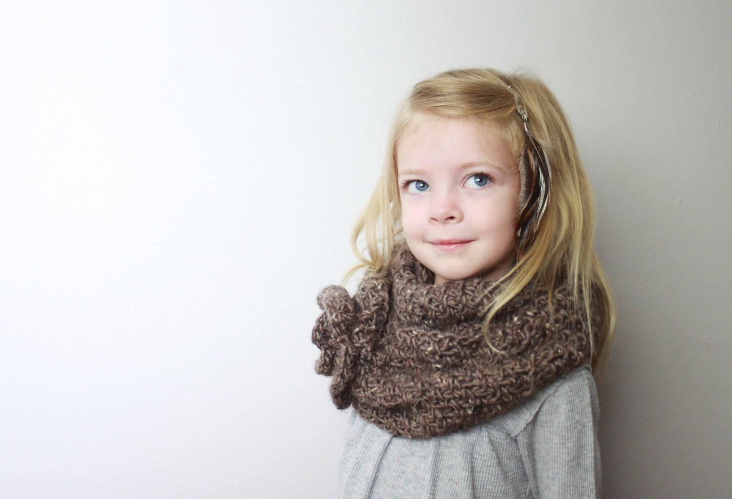Childrens Scarf Neckwarmer - Veronica
