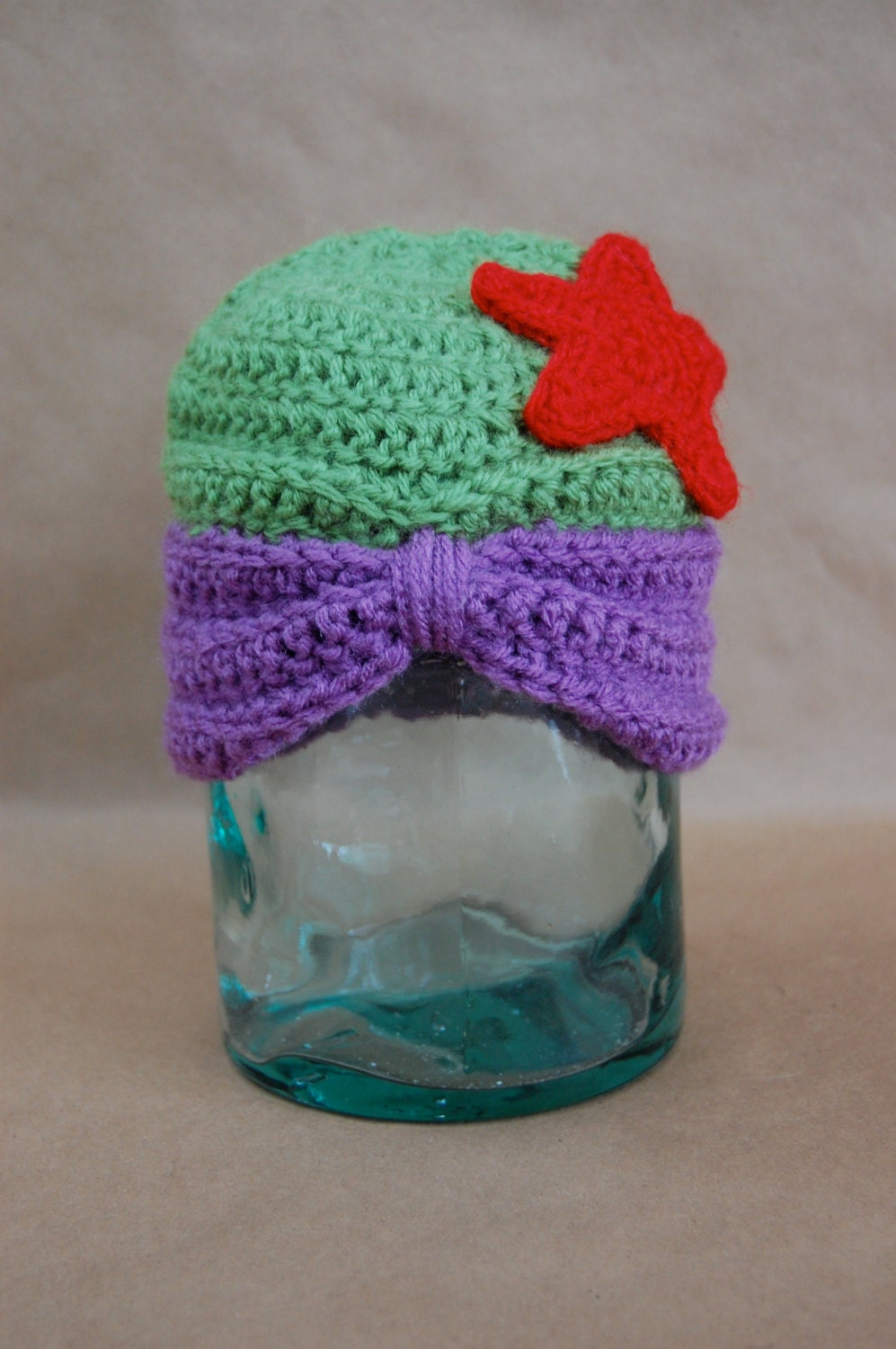 Free Crochet Patterns For Disney Hats : Items similar to Disney Princess Ariel Inspired Crochet ...