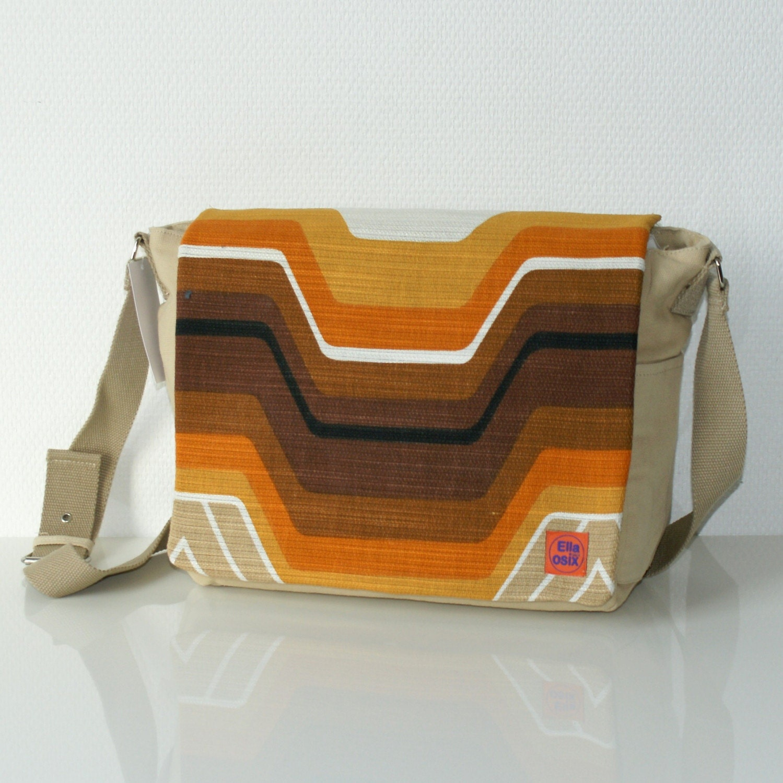 Cyma  syteet bag customized with original vintage by EllaOsix