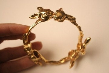 Bunny love bangle