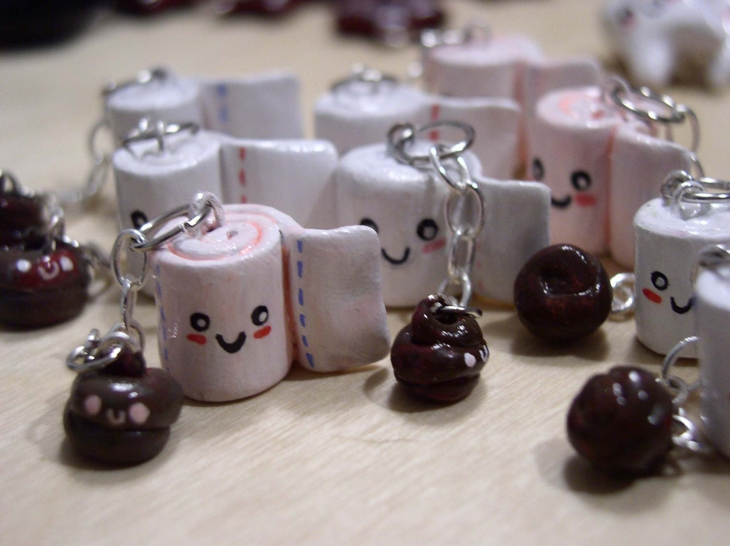 Toilet Paper and Poo Charm