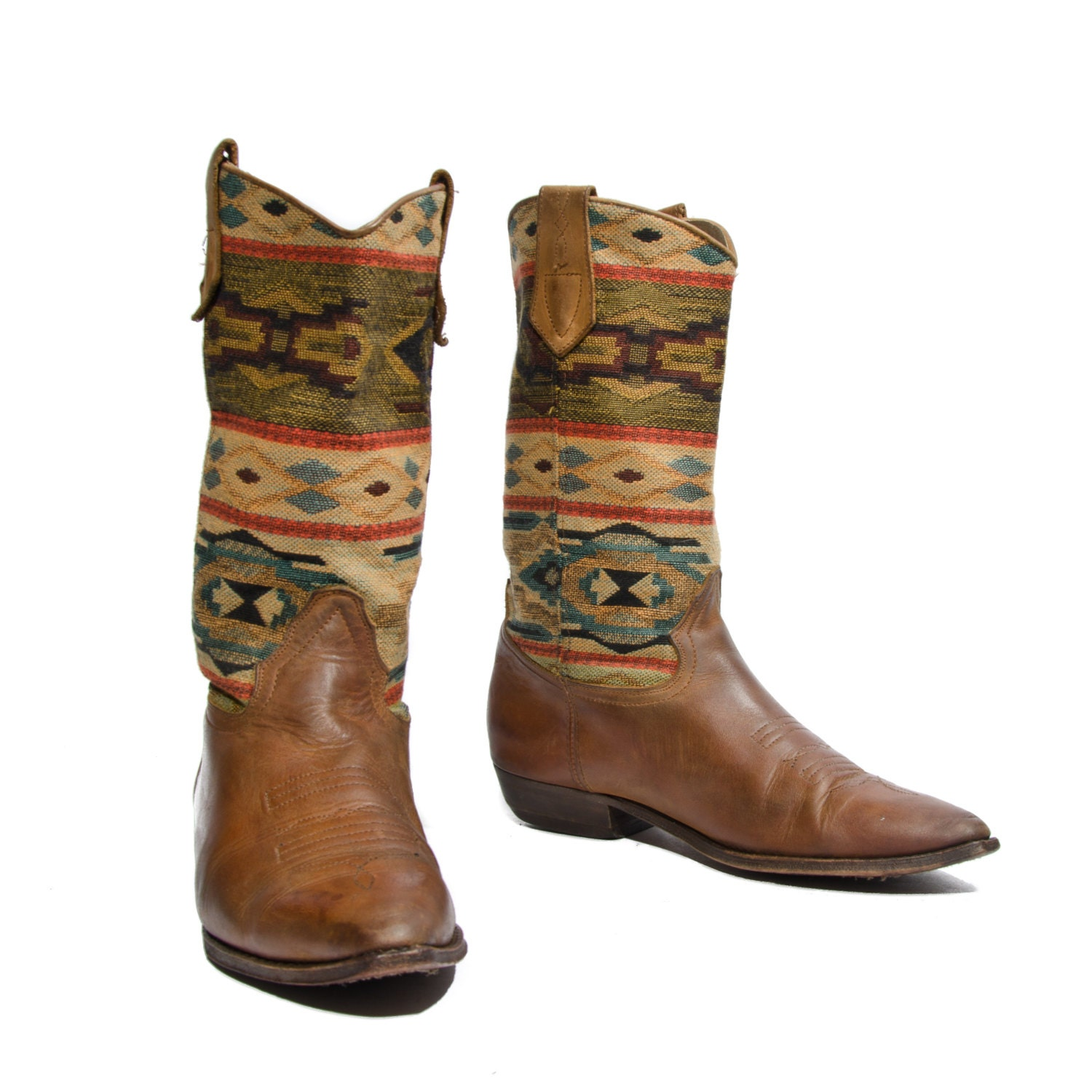 90 s seychelles southwestern tapestry boots by