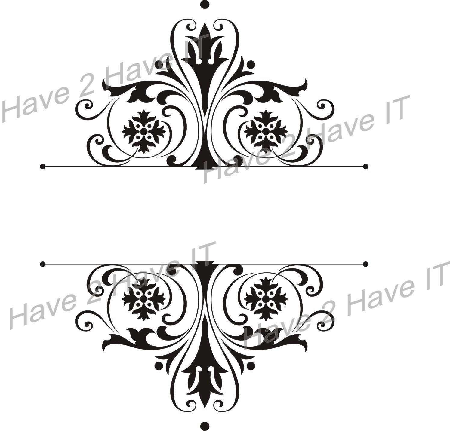 1 Damask SVG, AI, EPS, CDR vector files and FREE JPG High Resolution file