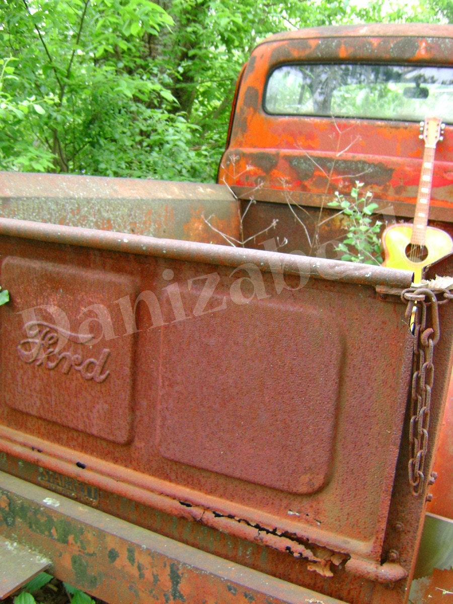 Red Truck Series 4 - 8 x 10 Matte Print