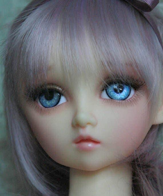 BJD eyes Doll eyes Hand made available in 12141618202224mm Cornflower Cutie made to order