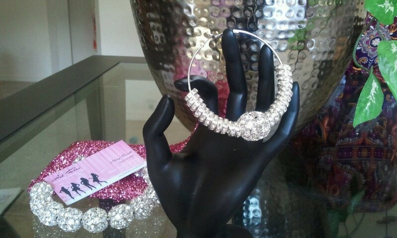 Basketball Wives Bling Crystal Ball Hoops
