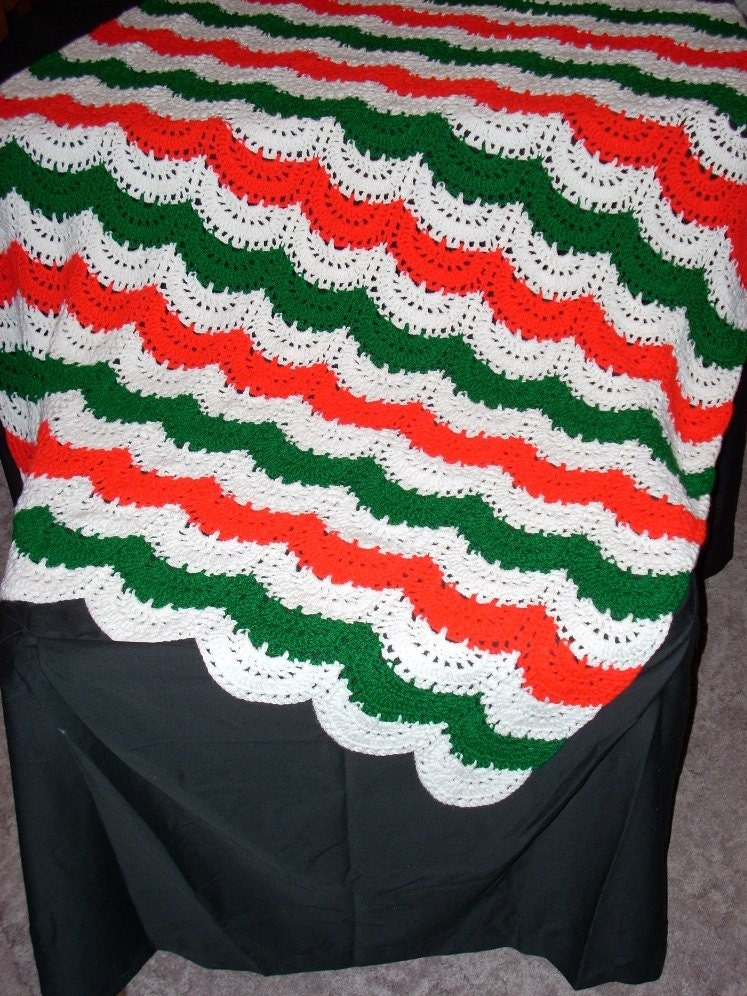 AFGHAN CROCHET MARINE PATTERN Crochet Patterns
