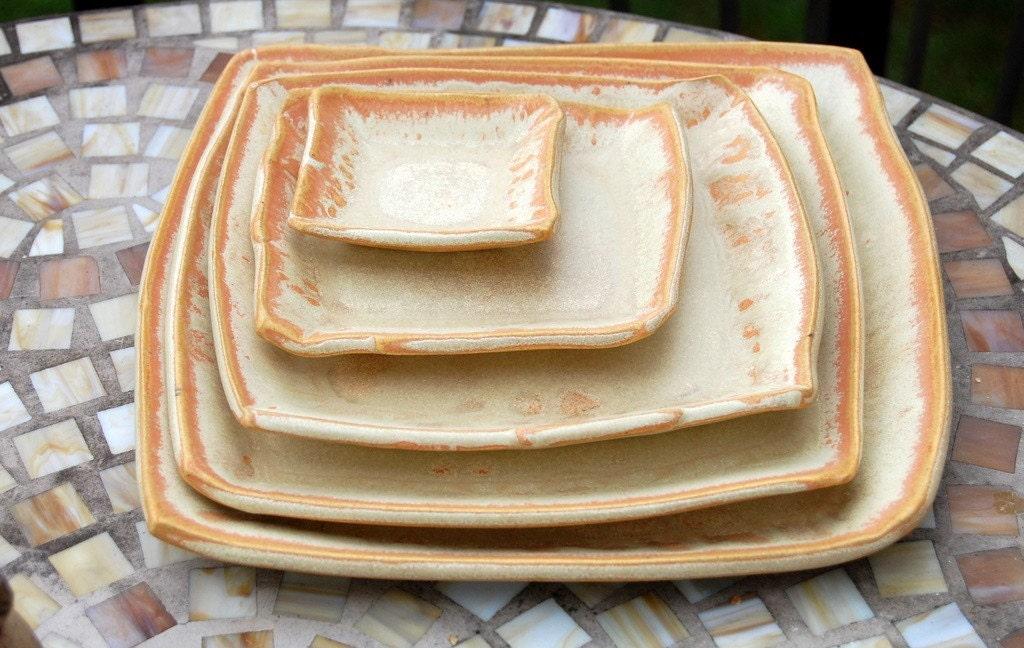 Five Dish Place Setting in Sunburst