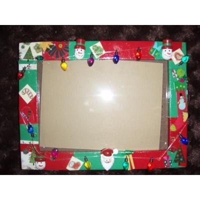 PreserveTheJelly: DIY: Christmas Picture Frames