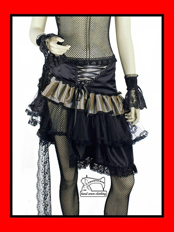 gothic skirt clothing goth harajuku japan queen of darkness lolita hell bunny necessary sinister evil aristocrat victorian corset style 0150