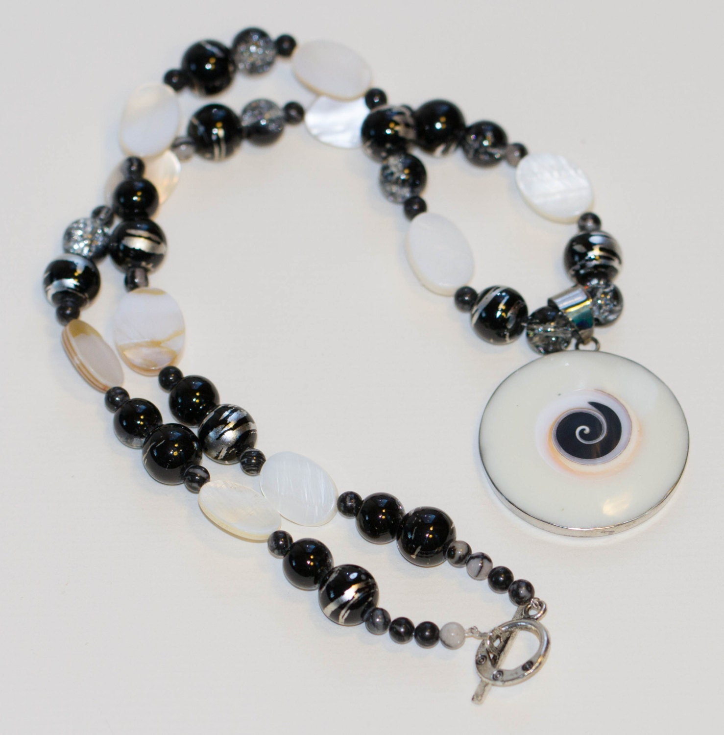 swirling mother of pearl jewelry