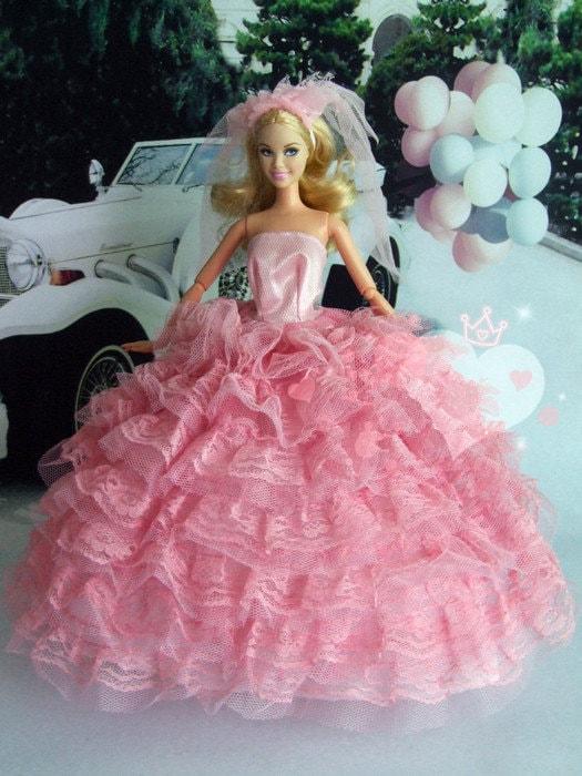 Handmade Dresses For Barbie Dolls Handmade Barbie Doll Clothes