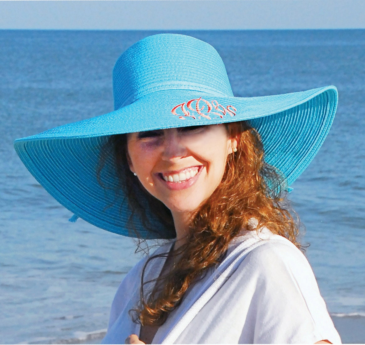 Personalized Sun hat- beach hat-Custom Mother's Day gift - suziessweetstuff
