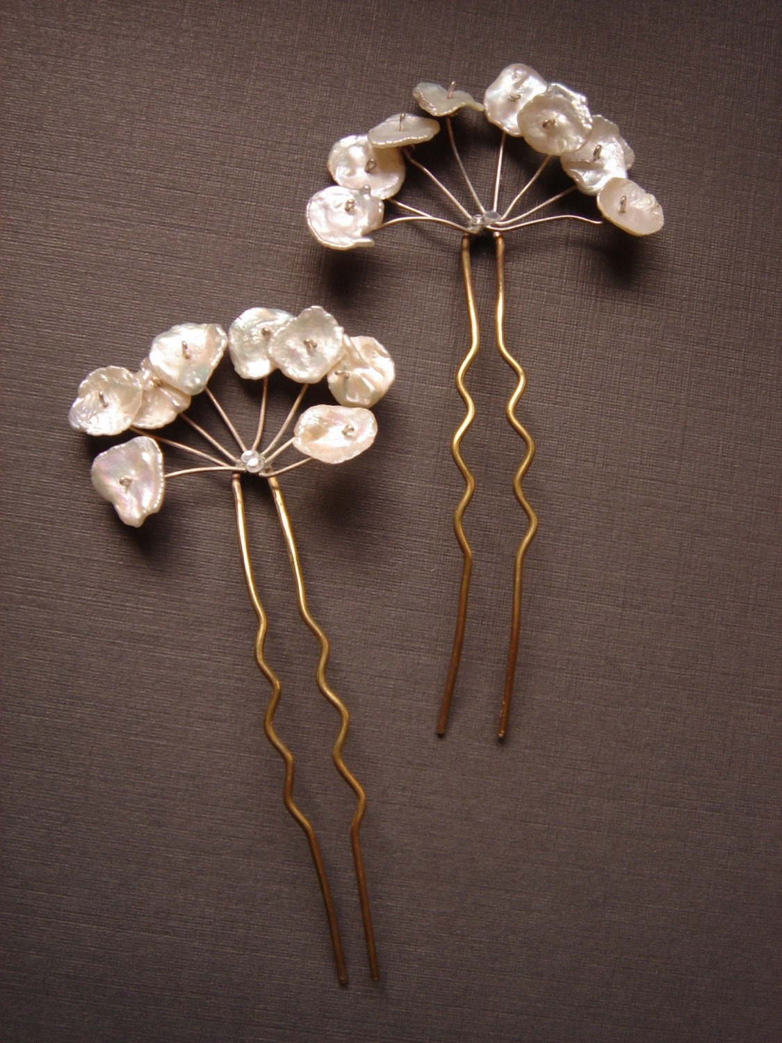 Queen Anns Hair Combs Bridal