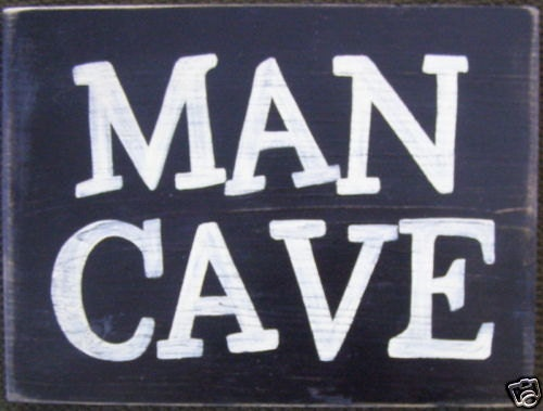 The MAN CAVE Sign Basement Poker Game Room By Shabbysignshoppe