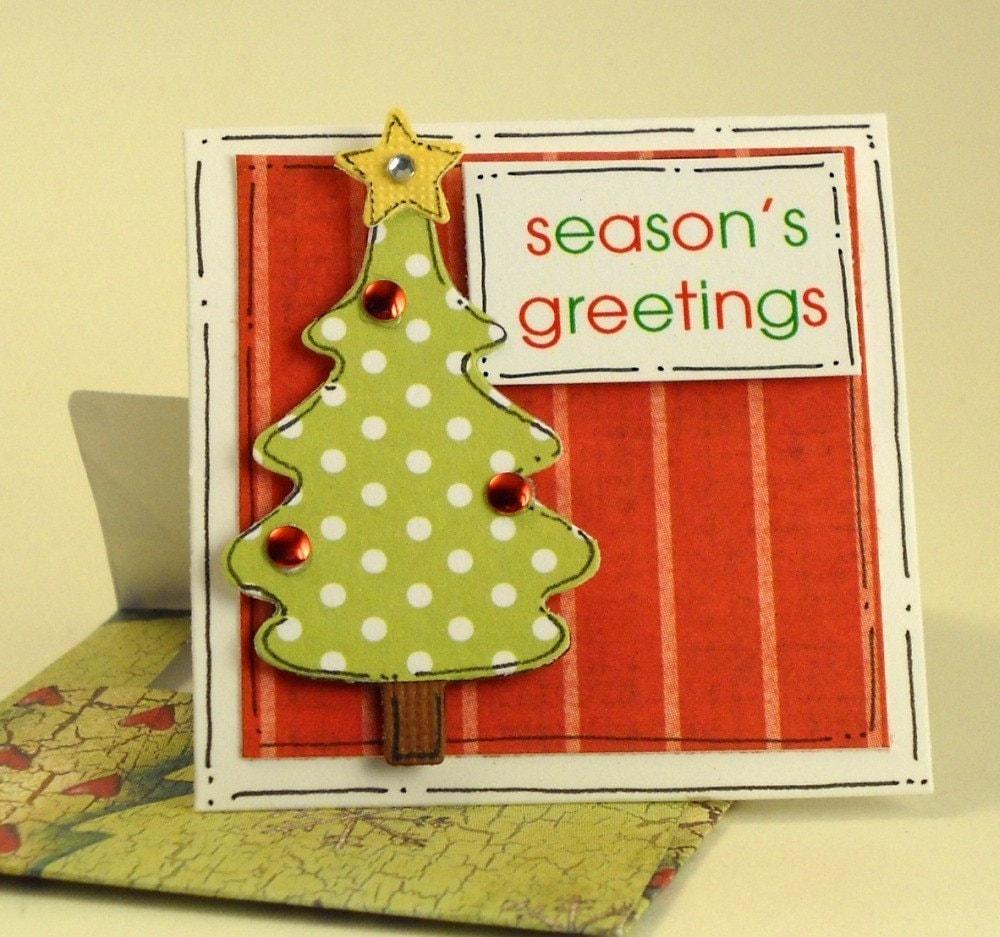 Season's Greetings - Teeny Card Set