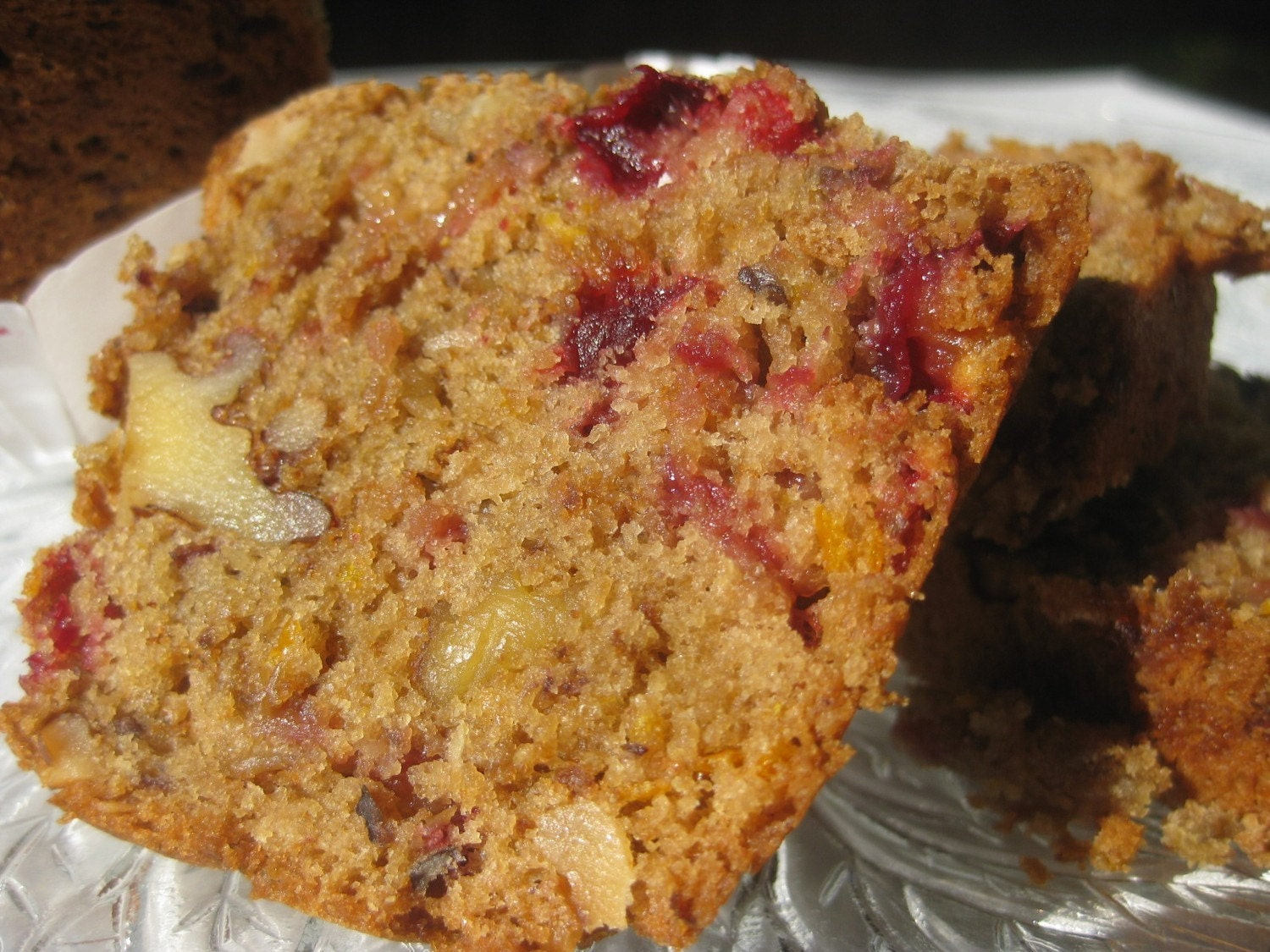 Cranberry Nut Bread to Die For - 2 Mini-Loaves