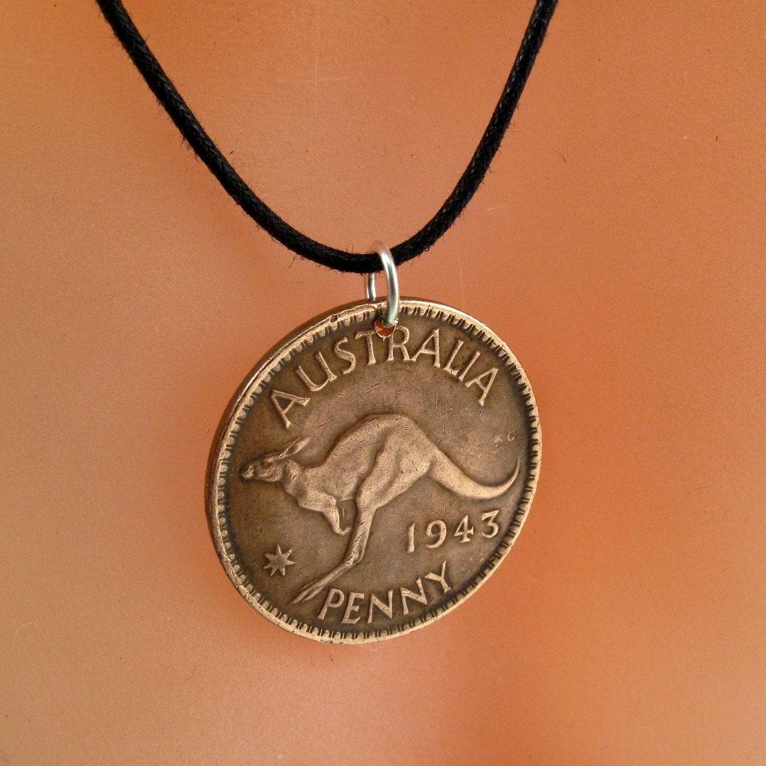 coin necklace jewelry australia australian by