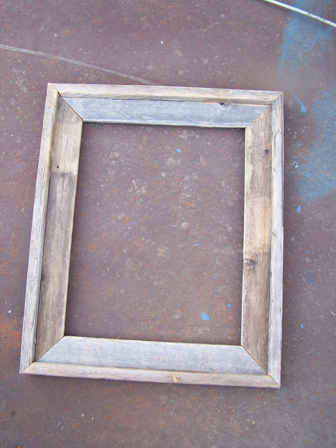 16x20 deluxe barnwood picture frame rustic by for 16x20 frame