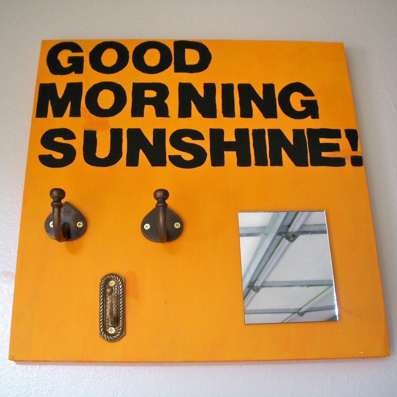 Good Morning Sunshine Jewelry Display Board