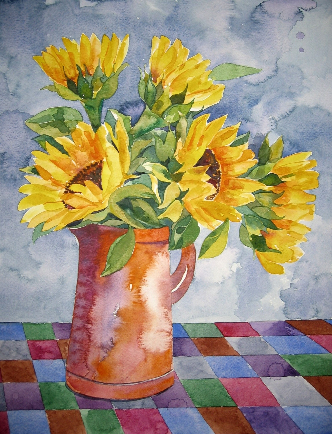 Sunflowers - Giclee Fine Art Print