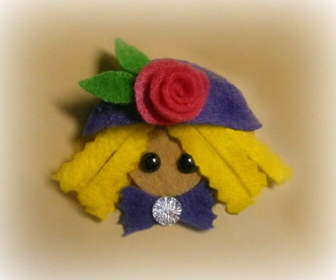Pixie Rose Hair Clip