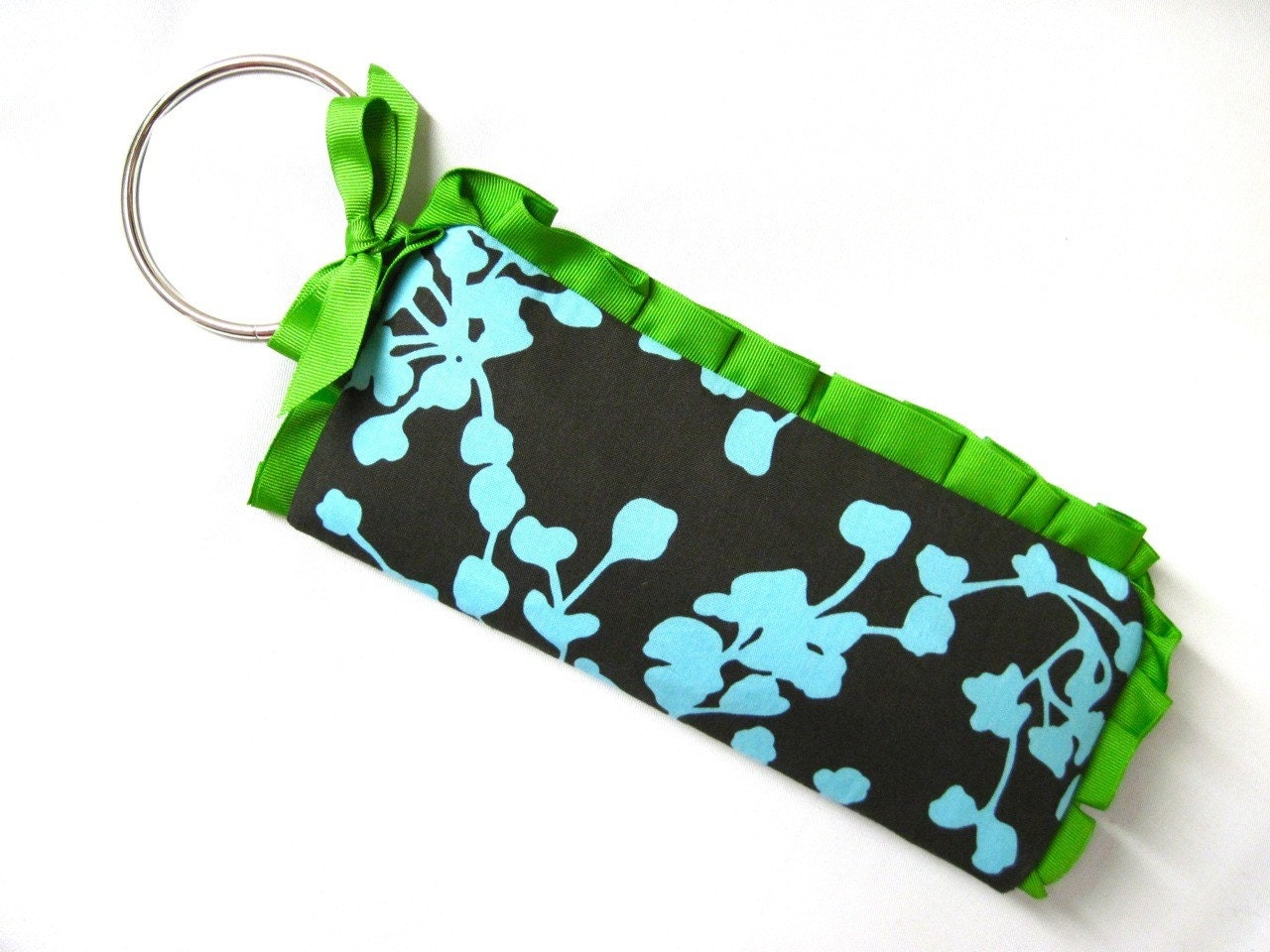 THE BANGLE WRISTLET in turquoise and green