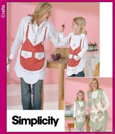 Mother & Daughter Apron Patterns Book - Apron Sewing Patterns at