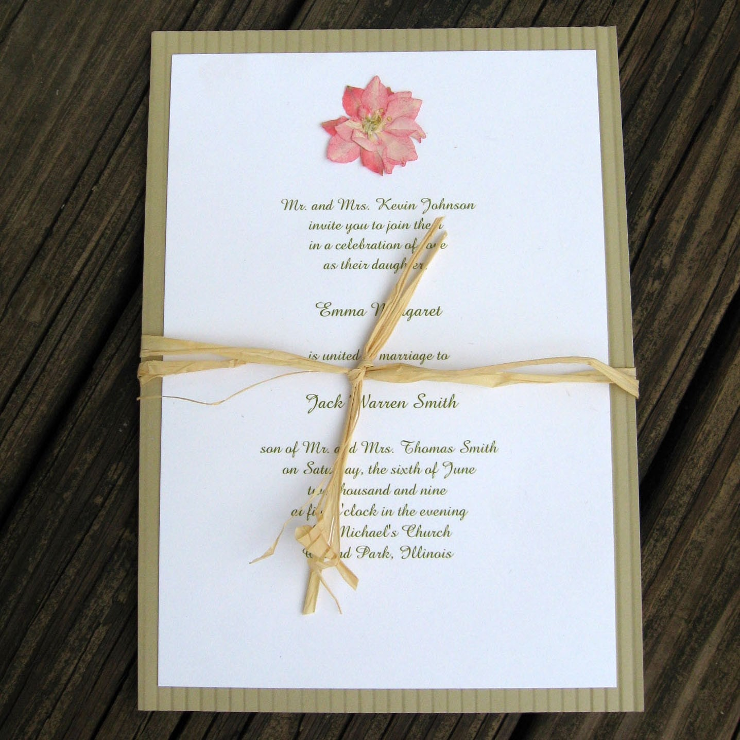 Pressed Wedding Flowers: Ides For Pressed Flowers Incorperated Into Invites