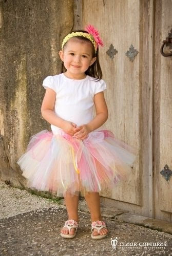 LIL BIRTHDAY PRINCESS TUTU WITH RIBBONS SIZE 12 18 24 MOS 2T 3T