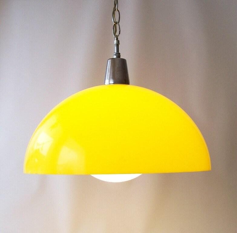 vintage swag hanging light lamp lighting by recyclebuyvintage. Black Bedroom Furniture Sets. Home Design Ideas
