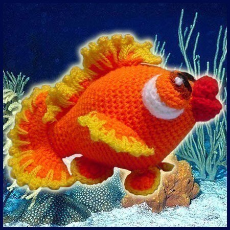 Bubbles, the little fish - Amigurumi pattern