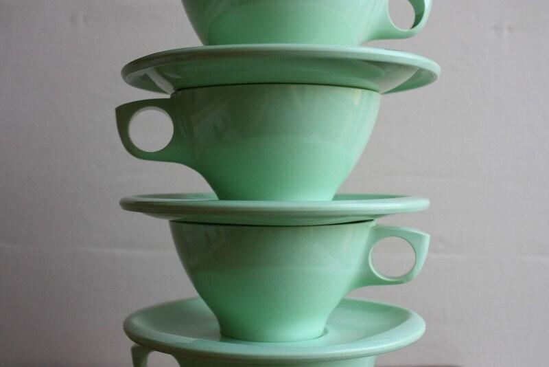 Celadon Teacups