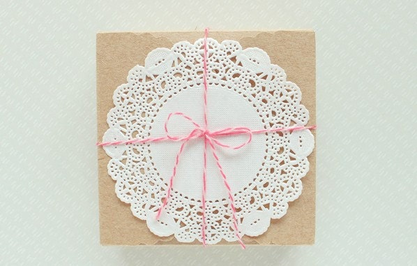 250 Paper Doilies -diameter 4.5inch - fromsoul