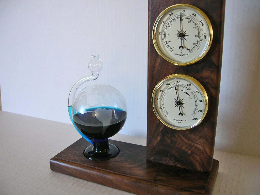 how to make a storm glass barometer