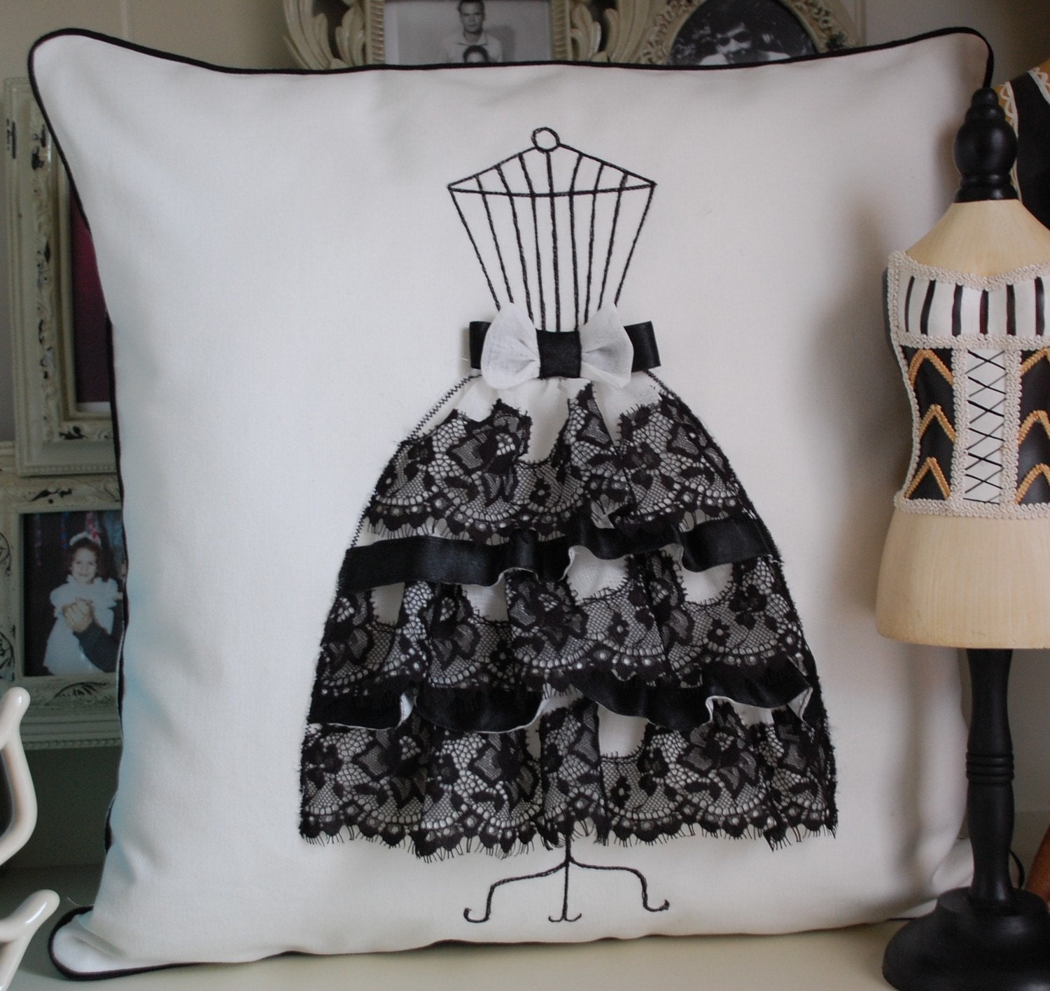 Haute Couture Pillow cover