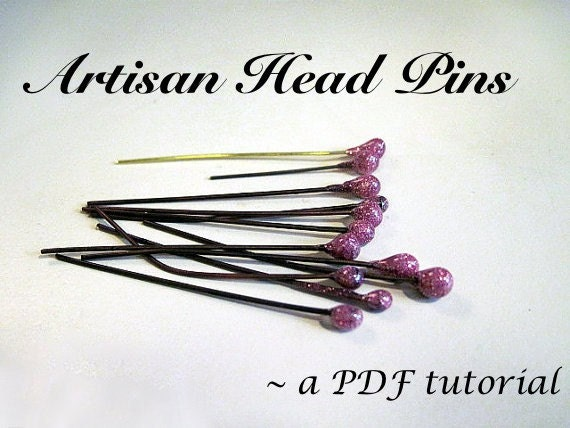 PDF Tutorial- Make Easy Artisan Head Pins with UTEE