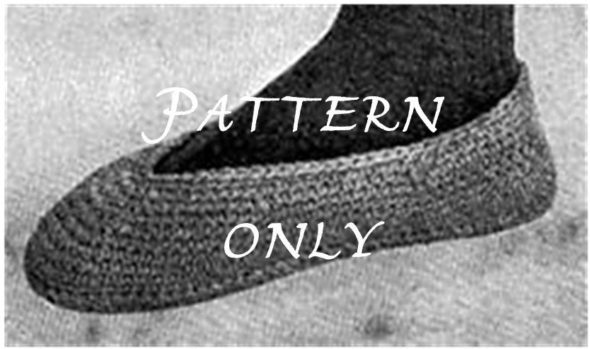 How to Crochet Slippers for Men | eHow.com