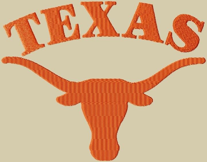 Texas Longhorn Machine Embroidery Designs