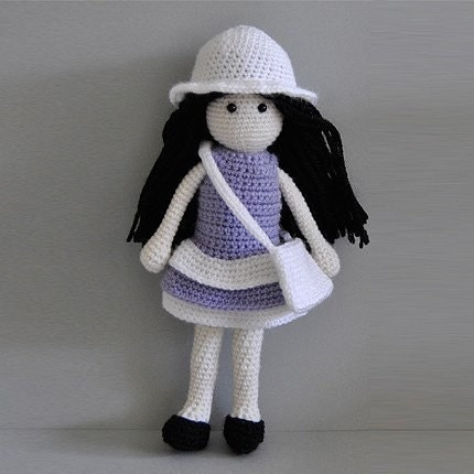 Molly the Doll - Crochet Pattern 1