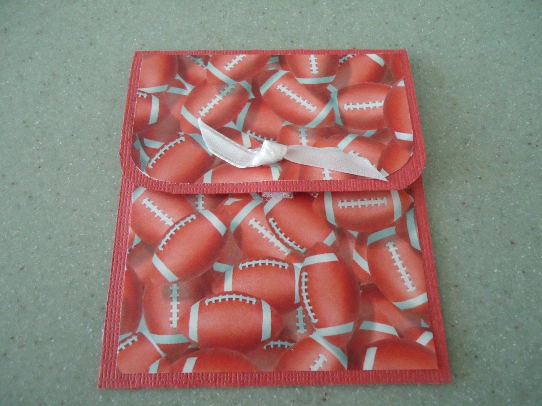Football Gift Card Holder, Masculine Gift Card Holder, Sports Gift Card Holder, Dad, Father's Day, Graduation - GiftsGaloreandMore